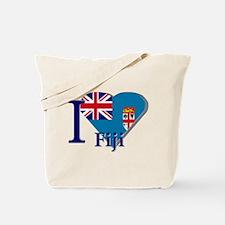 I love Fiji Tote Bag