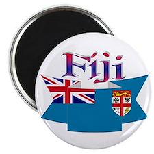 Fiji flag ribbon Magnet