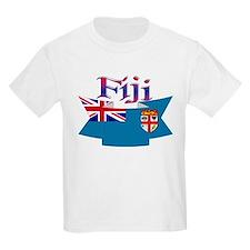 Fiji flag ribbon T-Shirt