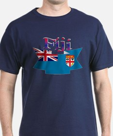 Fiji flag ribbon T-Shirt