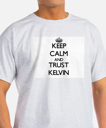 Keep Calm and TRUST Kelvin T-Shirt