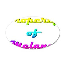 Property Of Melany Female Wall Decal