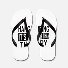 Awesome Hang Gliding Player Designs Flip Flops