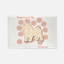 Bolognese Happiness Rectangle Magnet (100 pack)