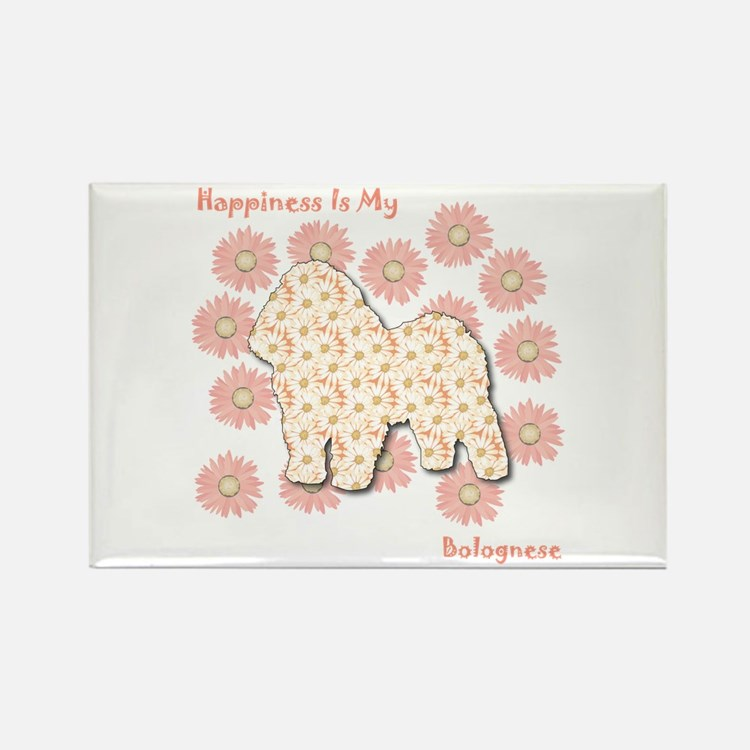 Bolognese Happiness Rectangle Magnet (10 pack)
