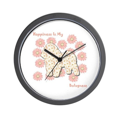 Bolognese Happiness Wall Clock