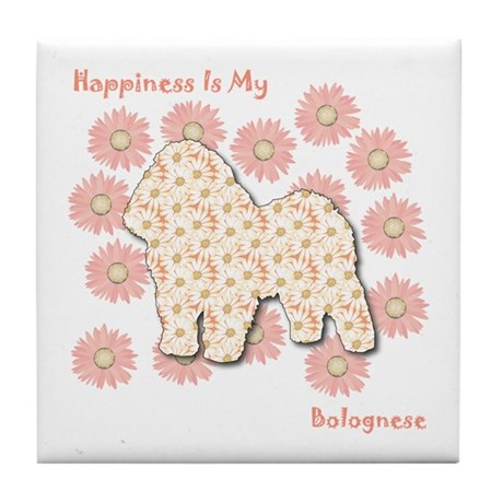 Bolognese Happiness Tile Coaster