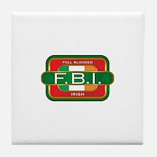 Full Blooded Irish Tile Coaster