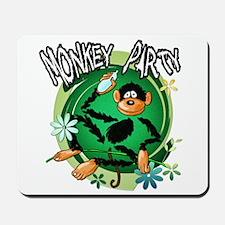 Monkey Party Mousepad