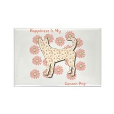 Canaan Happiness Rectangle Magnet (100 pack)