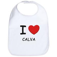 I love calva  Bib