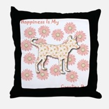 Yaller Happiness Throw Pillow