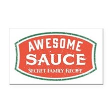 Awesome Sauce Rectangle Car Magnet