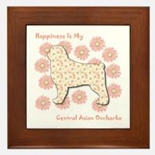 CAO Happiness Framed Tile