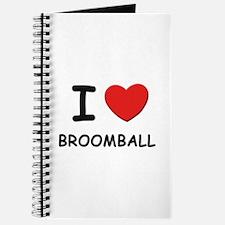 I love broomball Journal