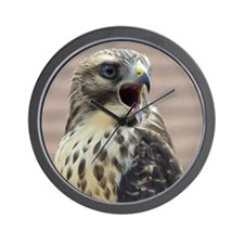 Red-tailed Hawk Wall Clock