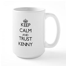 Keep Calm and TRUST Kenny Mugs