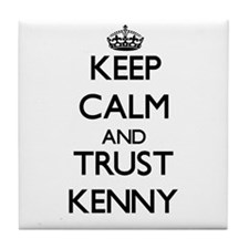 Keep Calm and TRUST Kenny Tile Coaster