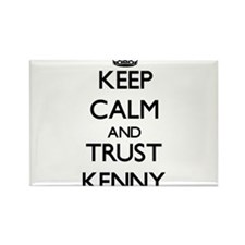 Keep Calm and TRUST Kenny Magnets