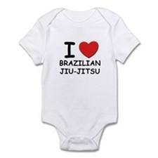 I love brazilian jiu-jitsu  Infant Bodysuit