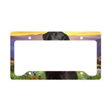 Labrador Meadow (carmag) License Plate Holder