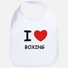 I love boxing  Bib