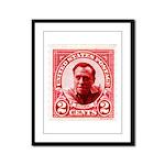 Bukowski 2 Cents Framed Panel Print