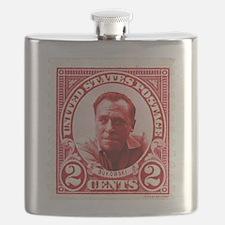 Bukowski 2 Cents US Postal Red Flask