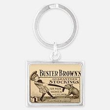 Buster Brown Landscape Keychain