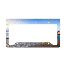 Old orchard beach pier License Plate Holder