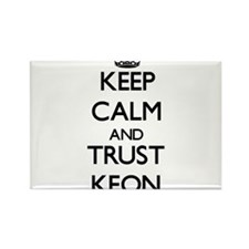 Keep Calm and TRUST Keon Magnets