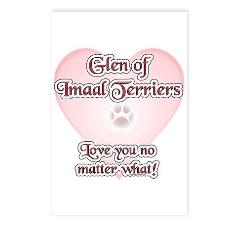 Imaal Love U Postcards (Package of 8)