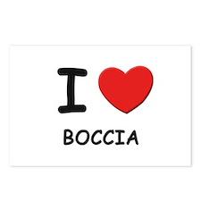 I love boccia  Postcards (Package of 8)