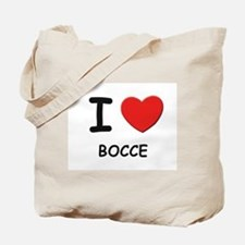 I love bocce Tote Bag