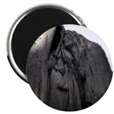 Weeping statues Magnet