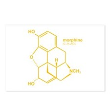 Morphine Postcards (Package of 8)