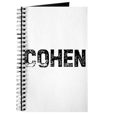 Cohen Journal