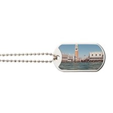 Piazza San Marco from water Dog Tags
