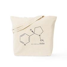 Nicotine Tote Bag