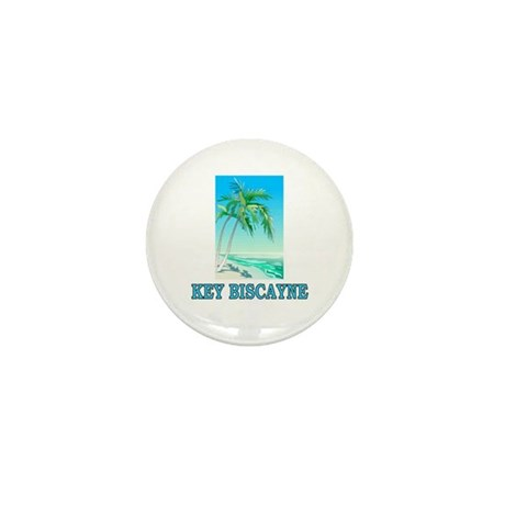 Key Biscayne, Florida Mini Button (10 pack)