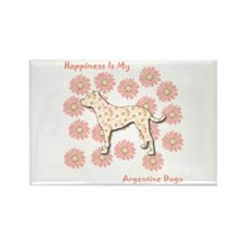 Dogo Happiness Rectangle Magnet (100 pack)