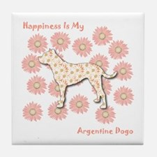 Dogo Happiness Tile Coaster