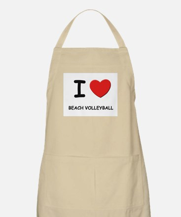 I love beach volleyball  BBQ Apron