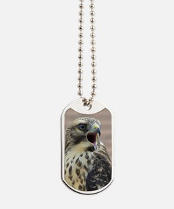 Red-tailed Hawk Dog Tags