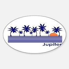 Jupiter, Florida Oval Decal
