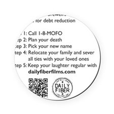 MoFos Five Easy Steps to Debt Reduct Cork Coaster