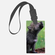 Wolf Cub Luggage Tag