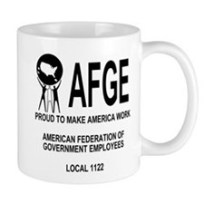 AFGE Local 1122 Coffee Cup