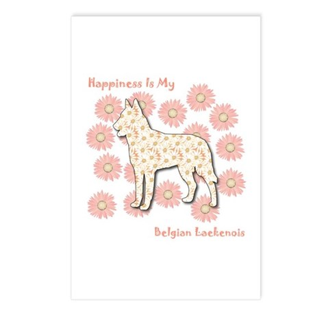 Laekenois Happiness Postcards (Package of 8)