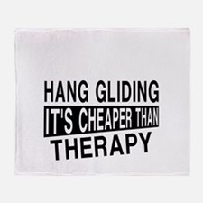 Awesome Hang Gliding Player Designs Throw Blanket